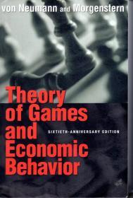 Theory of Games and Economic Behavior.详看书影.