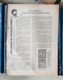 文革小报《动态》第104号