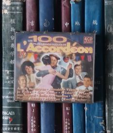 CD-Les 100 plus grands succès de l'accordéon(4CD)盒子破损