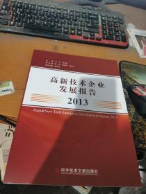 高新技术企业发展报告( 2013年)