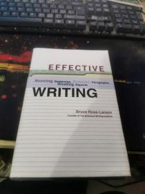Effective Writing:Stunning Sentences, Powerful Paragraphs, and Riveting Reports16开