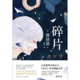 全新正版图书 碎片凑佳苗湖南文艺出版社有限责任公司9787572601521 长篇小说日本现代普通大众胖子书吧