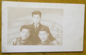 民国老照片:民国上海——百乐门照相馆钢印