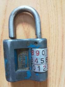 老密码锁  大小请看图中参照物