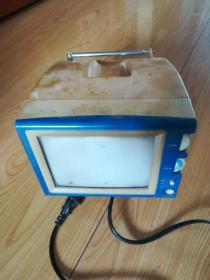 小电视机  (正面长约15.5宽约11.5cm)
