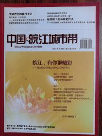 中国皖江城市带【2013年第1期】