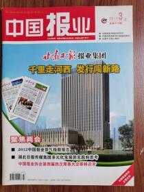 中国报业【2013年第3期】