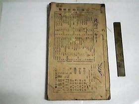 柳錢黄鄭祝書法  /  民國十五年石印大開本 壹厚册全