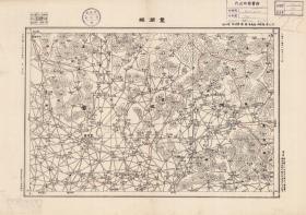 【复印件】民国二十年(1931年)《丰润县》(原图高清复制),(民国河北唐山丰润滦县滦州老地图)。全图范围四至,请看图片。丰润县城在全图左下方,图中红线是县界,右侧标注为滦县,请看榛子镇,现在为滦州市。民国军用图,参谋本部陆地测量总局测绘,全图年代准确,十万分之一比例尺,村庄、道路、山体等高线、河流等绘制详细。此图种非常稀少。地理地名历史变迁重要史料。裱框后风貌佳。