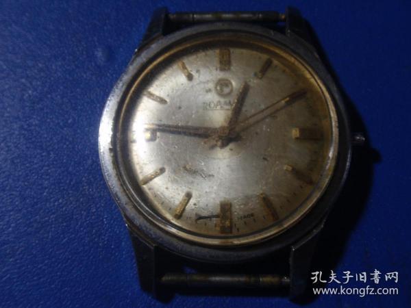 男式原装瑞士罗马机械手表(进口手表143)