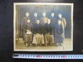 民国集体照,大尺寸23.7*19.5厘米