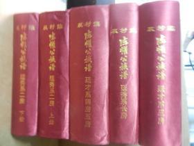 双村族 陈懽公族谱  (公元923-2013) 全11册