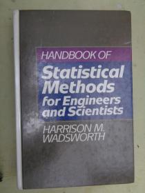 HANDBOOK OF Statistical Methods for Engineers and Scientists【工程师和科学家统计方法手册】
