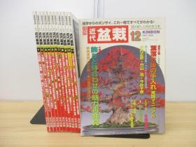 月刊 盆栽杂志  全年12期  12册   2002年  近代出版  品好包邮