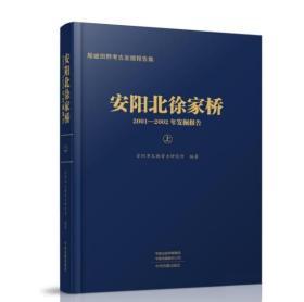 安阳北徐家桥2001-2002年发掘报告(全二册)