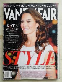 VANITY FAIR-SEPTEMBER 2012 NO.625 外文原版杂志 名利场 2012年9月 第625期 实拍图