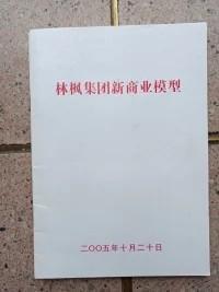 林枫集团新商业模型