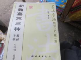 北魏墓志三种字帖解析--书法字海解析丛书第一辑