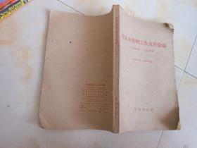 劳动力管理工作文件汇编1958年--1960年