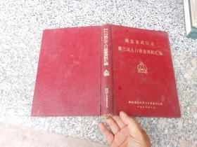 湖北省武汉市第三次人口普查资料汇编