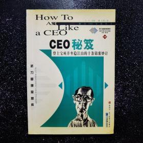 CEO秘笈:登上宝座并坐稳江山的十条锦囊妙计