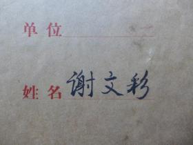 湖北新洲人物·建安公司 谢文彩【1980年照片】