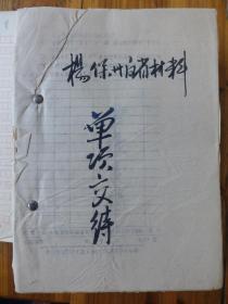 湖北新洲人物:凤凰·杨保洲书信集
