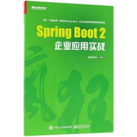 Spring Boot 2企业应用实战