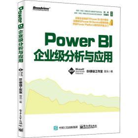 Power BI企业级分析与应用