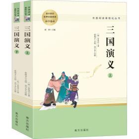 三国演义名著阅读课程化从书(全两册)智慧熊图书