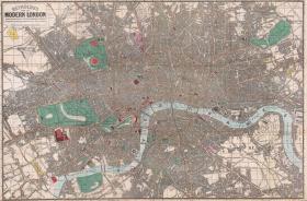 【复印件】伦敦老地图 Map of London(1862年制图)英国老地图 原图高清复印