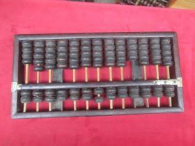 算盘:13档:(367图)(有商标看不清)有二桥缺少二个珠子。铝包边:自己看