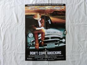 【海报】Don't Come Knocking(别来敲门)