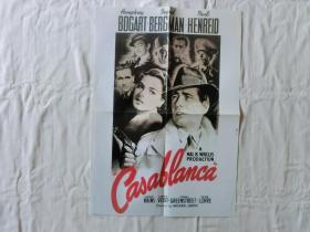 【海报】Casablanca (卡萨布兰卡)