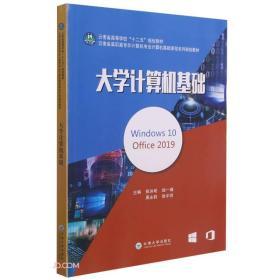 大学计算机基础(Windows10  Office2019  )