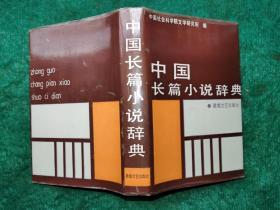 中国长篇小说辞典