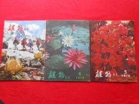 植物杂志 1978年第1、4、5期