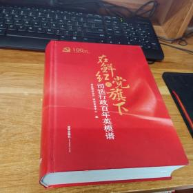 在鲜红的党旗下:司法行政百年英模谱