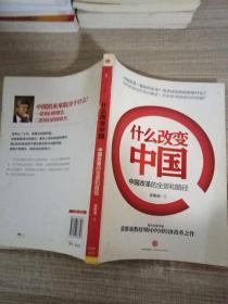 什么改变中国:中国改革的全景和路径