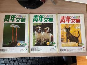青年文摘 2002年三本合售