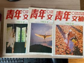 青年文摘 1993年第8.9.10期,三期