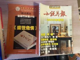 小说月报 2005年增刊 中篇小说专号