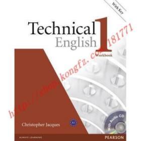 【全新正版】Technical English Level 1 Workbook with Key/...