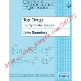 【全新正版】Top Drugs: Top Synthetic Routes