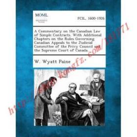【全新正版】A Commentary on the Canadian Law of Simple C...