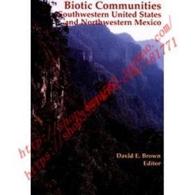 【全新正版】Biotic Communities: Southwestern United Stat...