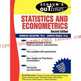 Schaum'sOutlineofStatisticsandEconometrics