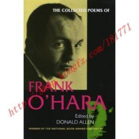 【全新正版】The Collected Poems of Frank O'Hara