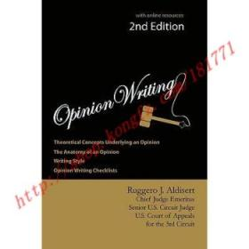 Opinion Writing 2nd Edition