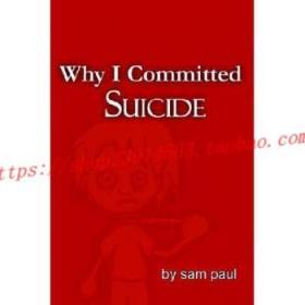 【全新正版】Why I Committed Suicide